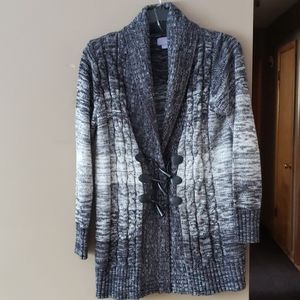 Laura Scott cardigan with toggles xl
